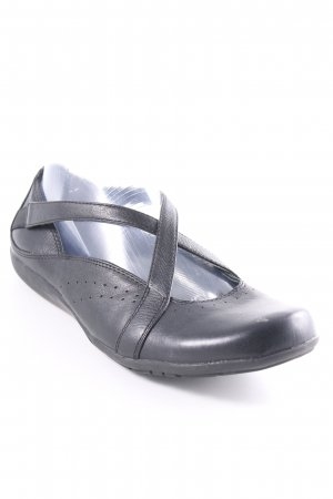 Clanks Mary Jane Ballerinas schwarz Casual-Look