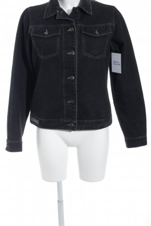 Clara Chiara Denim Jacket dark grey casual look