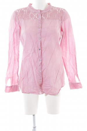 Clarina Hemd-Bluse pink Casual-Look