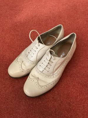Clarks Lace Shoes oatmeal-cream