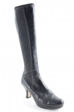 Clarks Absatz Stiefel schwarz Elegant