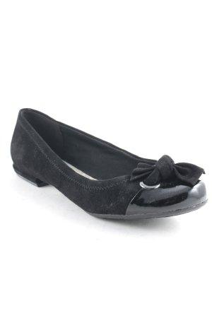 Clarks Ballerinas schwarz klassischer Stil