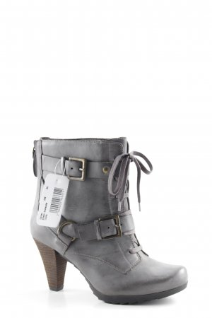 Clarks Booties grau-braun Casual-Look