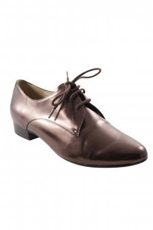 Clarks Wingtip Shoes bronze-colored business style