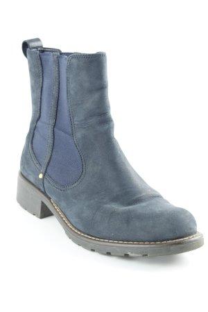Clarks Chelsea laarzen petrol-donkerblauw casual uitstraling