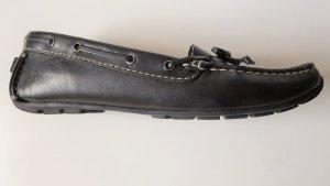 Clarks Moccasins black leather