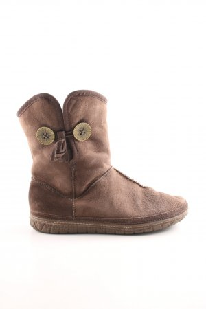 Clarks Fur Boots brown casual look