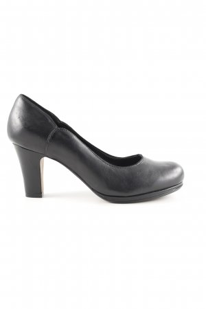 Clarks High Heels black business style