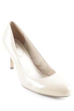 Clarks High Heels beige Elegant