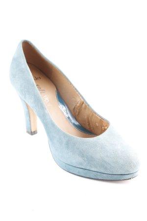 Clarks High Heels kadettblau-graugrün Elegant