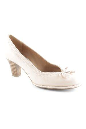 Clarks High Heels rosé-hellbraun Retro-Look