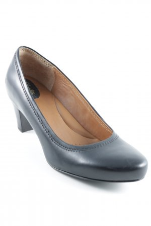 Clarks High Heels schwarz Business-Look