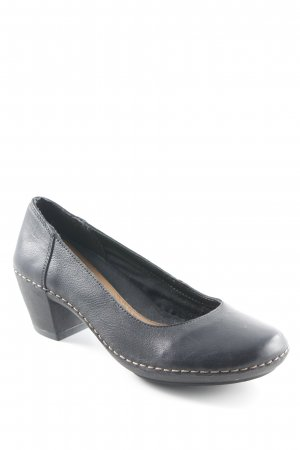 Clarks High Heels schwarz Casual-Look