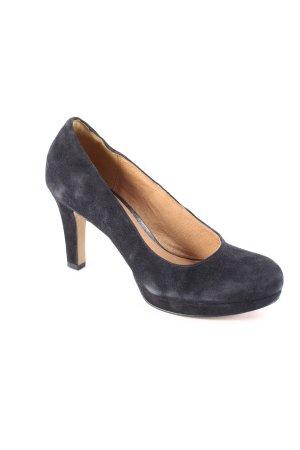 Clarks High Heels schwarz schlichter Stil
