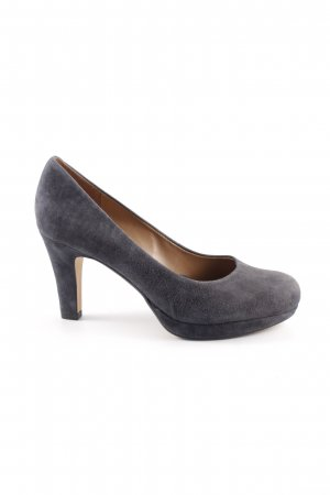 "Clarks High Heels ""softwear"" graublau"