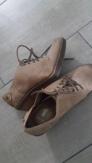 Clarks Keil Absatz Schuh