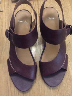 Clarks Kleilabsatz Schuhe