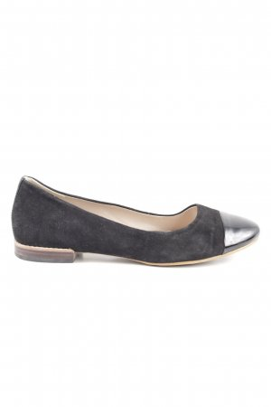 Clarks Patent Leather Ballerinas black casual look