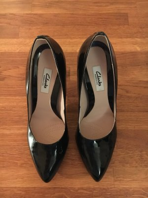 Clarks Lackleder Highheels