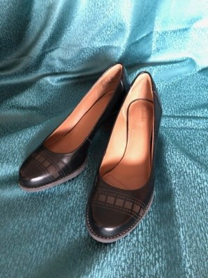 Clarks Loafer nero Pelle