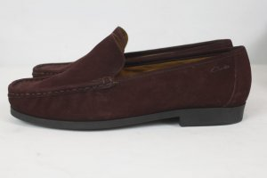 Clarks Loafer Schuhe Slipper Gr. 6,5 bordeaux neu