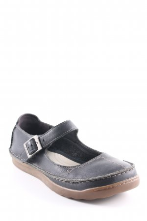 Clarks Zapatos Mary Jane negro look casual