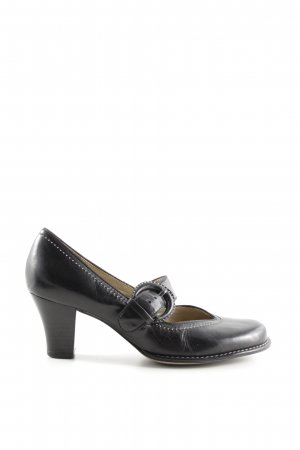Clarks Mary Jane Pumps schwarz Elegant