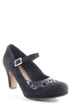 Clarks Mary Jane Pumps schwarz Elegant