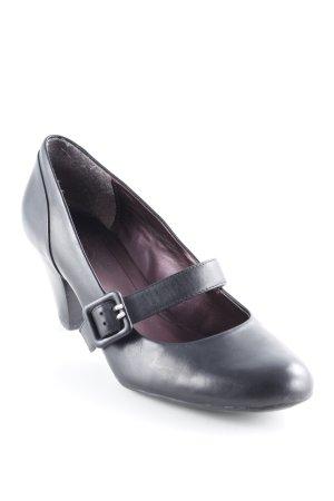 Clarks Mary Jane Pumps schwarz klassischer Stil