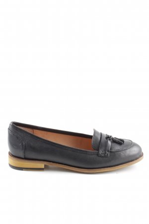 Clarks Mokassins schwarz Business-Look