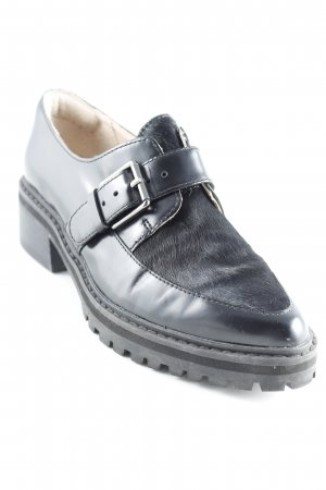 Clarks Monks schwarz Business-Look
