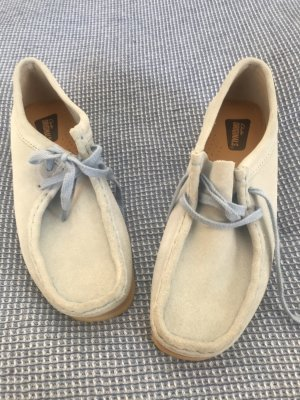 Clanks Lace-Up Sneaker baby blue