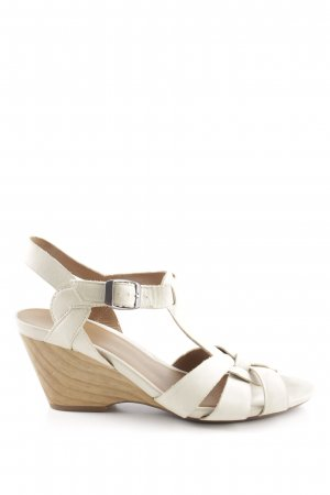 Clarks Platform Pumps natural white casual look
