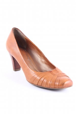 Clarks Pumps hellbraun Casual-Look