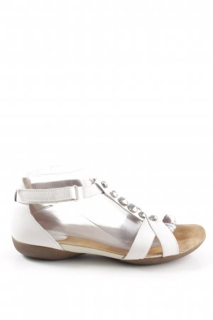 Clarks Strapped Sandals white casual look