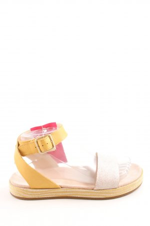 Clarks Strapped Sandals primrose-silver-colored casual look