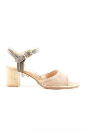 Clarks Riemchen-Sandalen wollweiß-bronzefarben Casual-Look