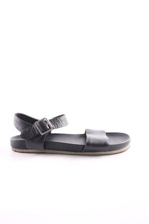 Clarks Riemchen-Sandaletten schwarz Casual-Look