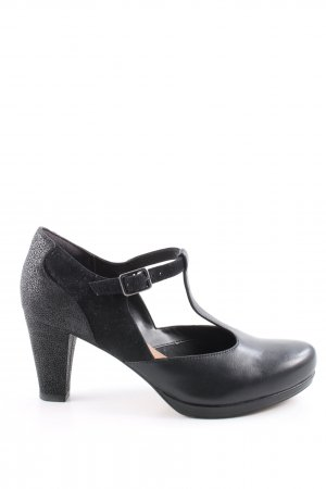 Clarks Strapped pumps black casual look
