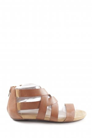 Clarks Roman Sandals brown casual look