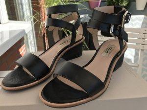 Clarks Romeinse sandalen zwart