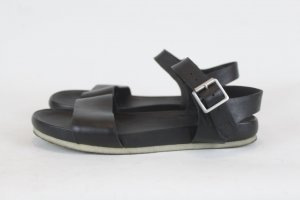 Clarks Sandalen schwarz Gr. 38 Leder