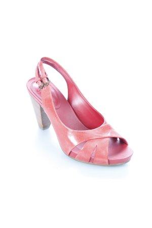 Clarks Sandaletten rot Boho-Look