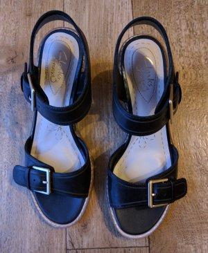 Clarks Sandaletten schwarz nw