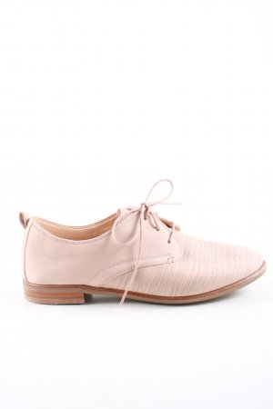 Clarks Lace Shoes pink allover print casual look