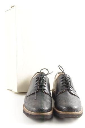 Clarks Schnürschuhe schwarz Casual-Look