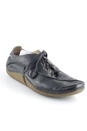 Clarks Schnürschuhe schwarzbraun-sandbraun Casual-Look