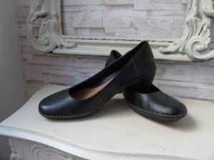 Clarks Schuhe /  Bequem-Pumps  Gr. 40 Schwarz, Leder Luxus Pur.