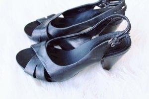 Clarks Platform High-Heeled Sandal black
