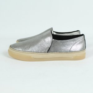 Clarks Slip-on Shoes gold-colored-silver-colored leather